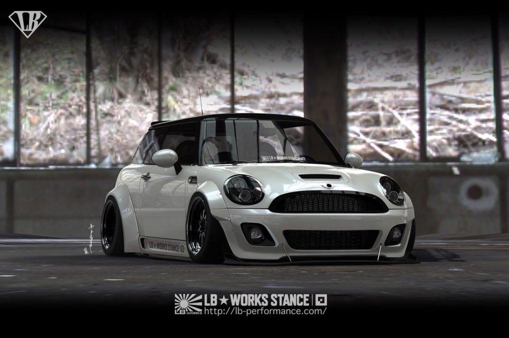 Mini Cooper Wide Tires >> Liberty Walk Mini Cooper | IKONIC Auto Garage - The BMW Specialists